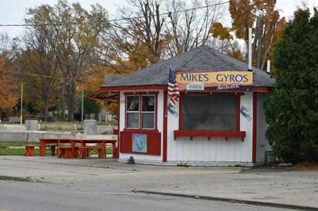 Mike's Gyros, end of 2014 season.