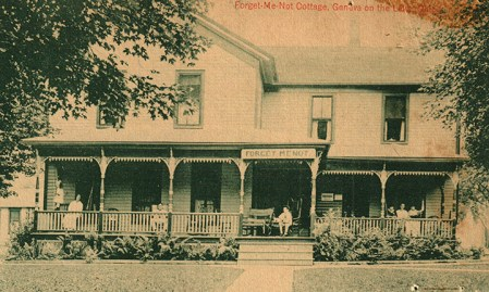 Post card photo from the Ashtabula County Historical Society museum, Walter Jack Reference Room collection.