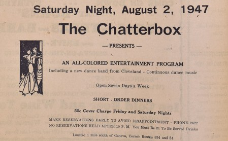August 1947 ad, Beachcomber