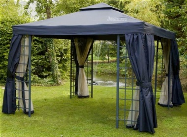 Gazebo 102 Hipped Roof Trellis Nets Curtains
