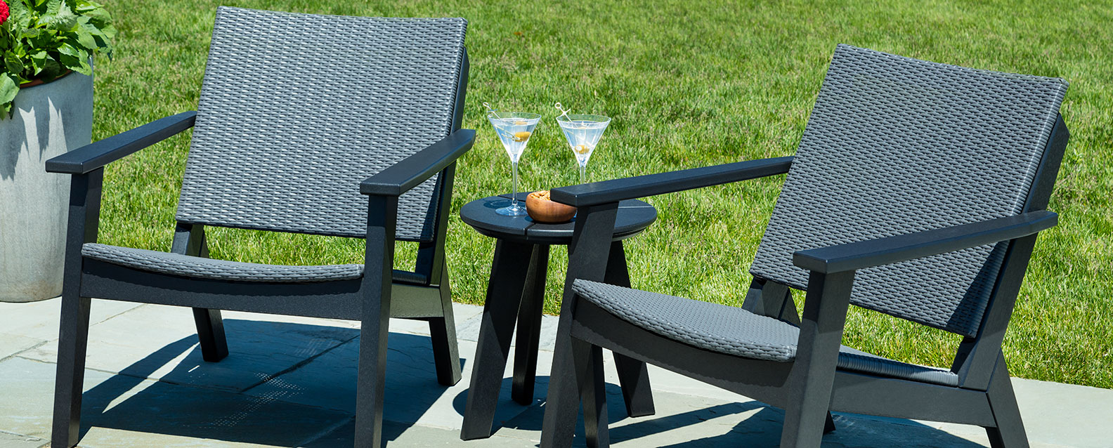 adirondack chairs recycled materials shower chair and commode seaside casual mad fusion chat | summer house patio