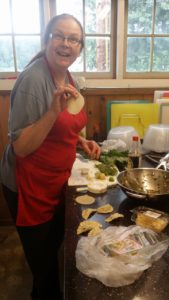 Mimi joins Terrie in the Cascading Kitchen Tuesdays and Fridays. Her ebullient spirit is contagious!