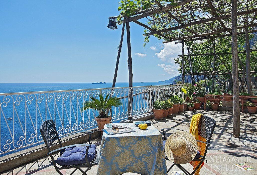 Villa Greta Self Catering Villa In Positano Amalfi Coast