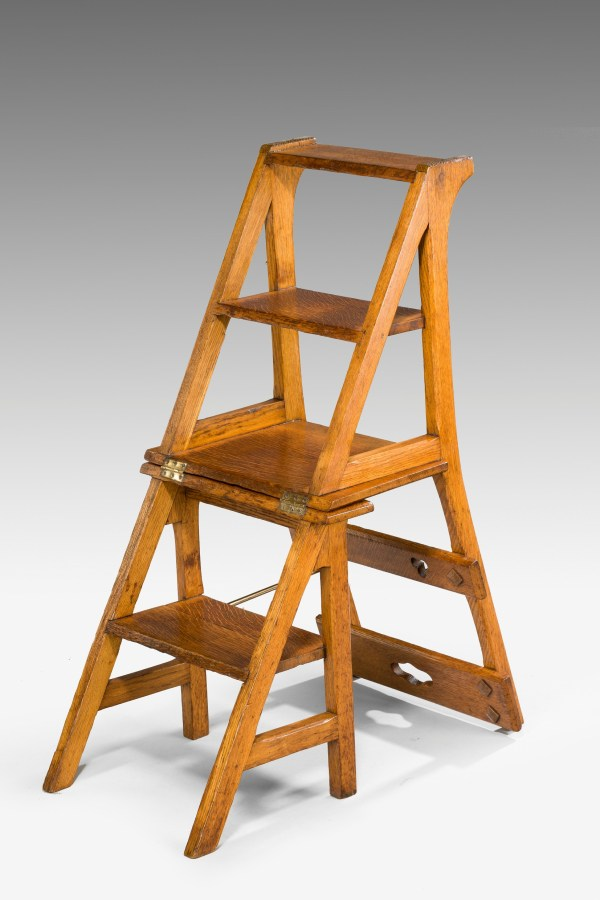 Library Chair Step Stool