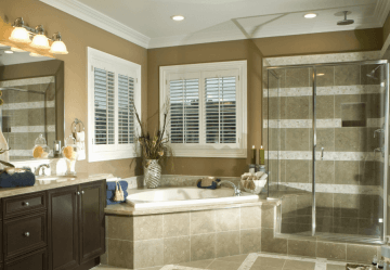 shower leaks into basement indiana
