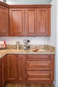 Cherry Wood Kitchen Cabinets Corona | Custom Kitchen ...