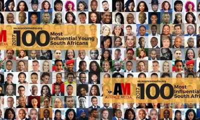 Nominees for 2017 100 Most Influential Young South Africans