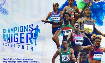 Confederation of African Athletics - CAA Asaba 2018