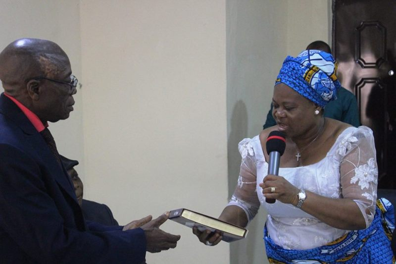 Rev. Florence Nwosu of Women Wing of the Christian Association of Nigeria, Asaba