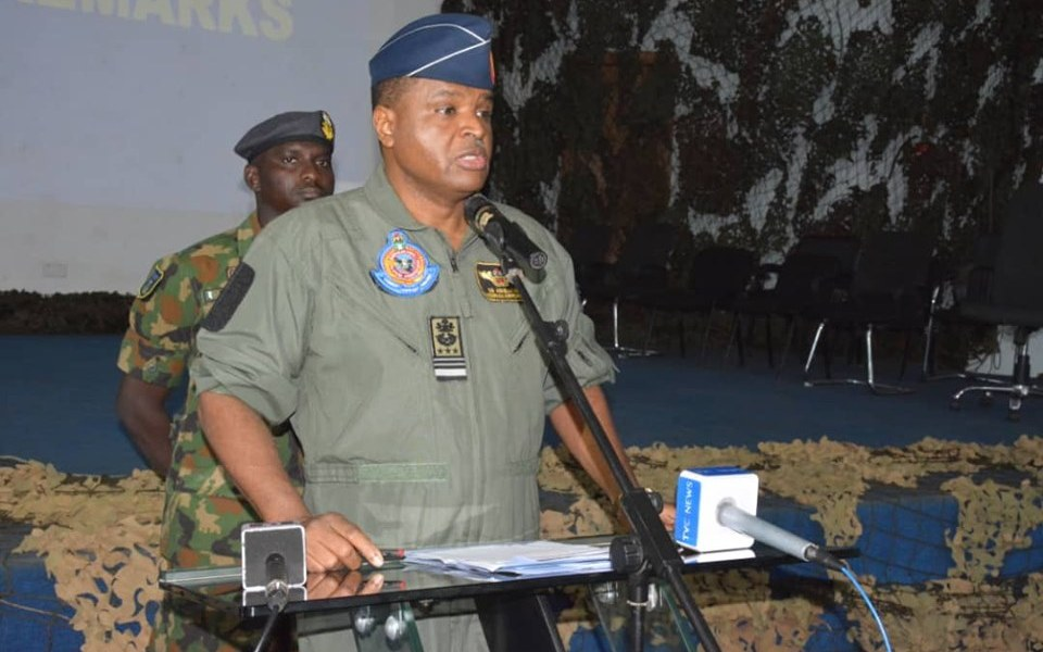 Chief of the Air Staff (CAS), Air Marshal Sadique Abubakar