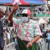 Rivers State Governor, Nyesom Wike at Edo PDP Guber Flag Off Rally
