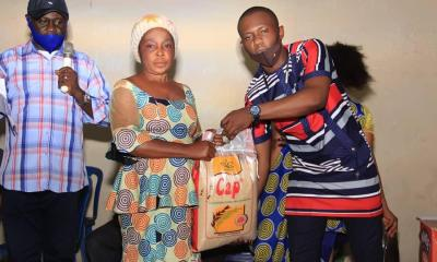 Usenobong Umoren Donates Palliatives