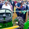 Delta Governor, Senator (Dr.) Ifeanyi Okowa (middle), flanked by his Deputy, Barr. Kingsley Otuaro (left), and the Commissioner for Agriculture, Hon Julius Egbedi (right), and others during  the inauguration of Twenty Unit of Tractors and Farm implements for the enhancement of Agricultural activities in the State on Wednesday, September 2, 2020. (PIX: BRIPIN ENARUSAI)