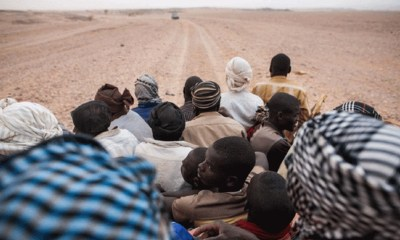 Illegal Migrations Across Africa Desert