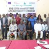 Group photograph of participants at ANEEJ's 2-Day M&E Workshop for CSOs & Journalists on Edo State Integrity & Accountability Strategy (EDSIAS) in Benin City.