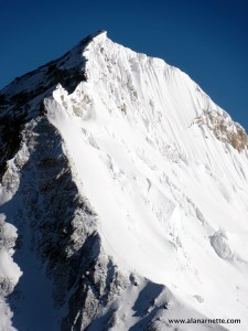 Everest Southeast ridge from Lhotse