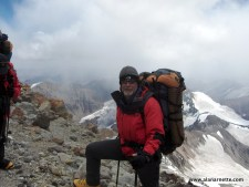 Alan on Aconcagua