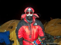 Alan leaving South Col