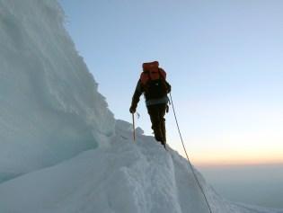 Climbing Rainier