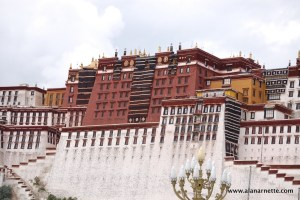Potala Palace in Lhasa Tibet
