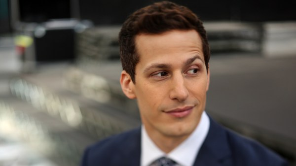 Hire Comedian Andy Samberg Book Stand