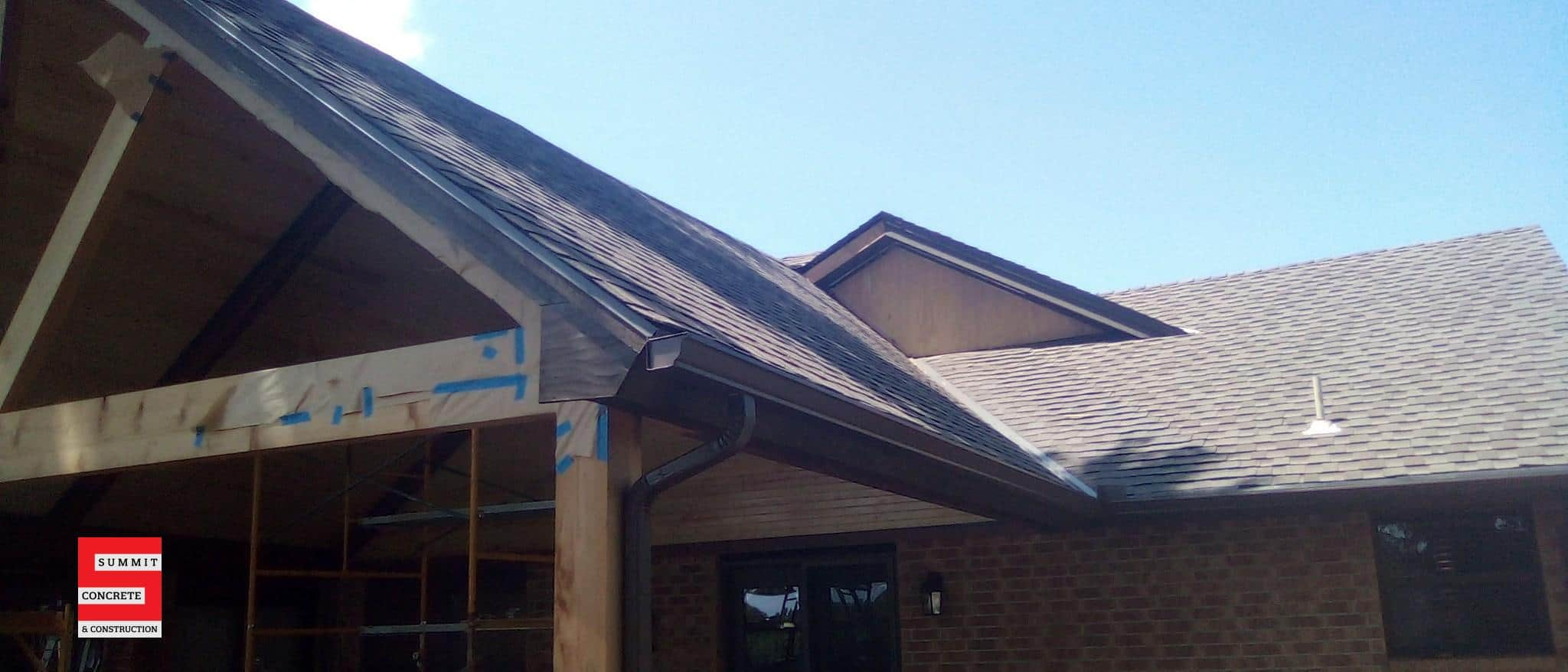 Custom Cedar Patio with Cathedral Ceiling Ponca City OK Summer 2020 11
