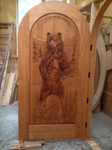 Hand Carved Wooden Doors