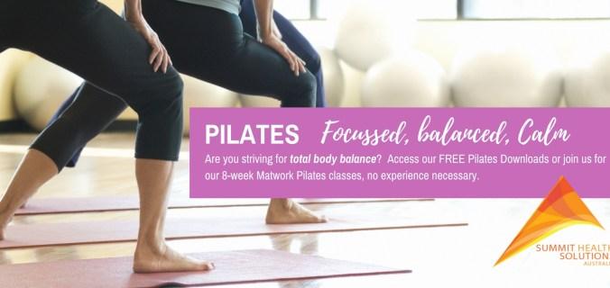 Pilates Summit Health Solutions Australia