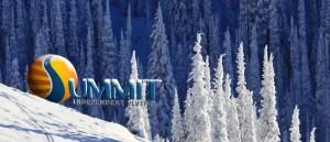 winter slide background