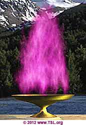 Violet flame for transmutation and personal transformation