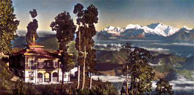 Darjeeling, etheric retreat