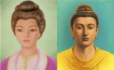Kuan Yin and Gautama Buddha