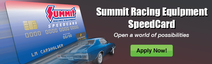Summit Racing Equipment Speedcard Free Shipping On Orders