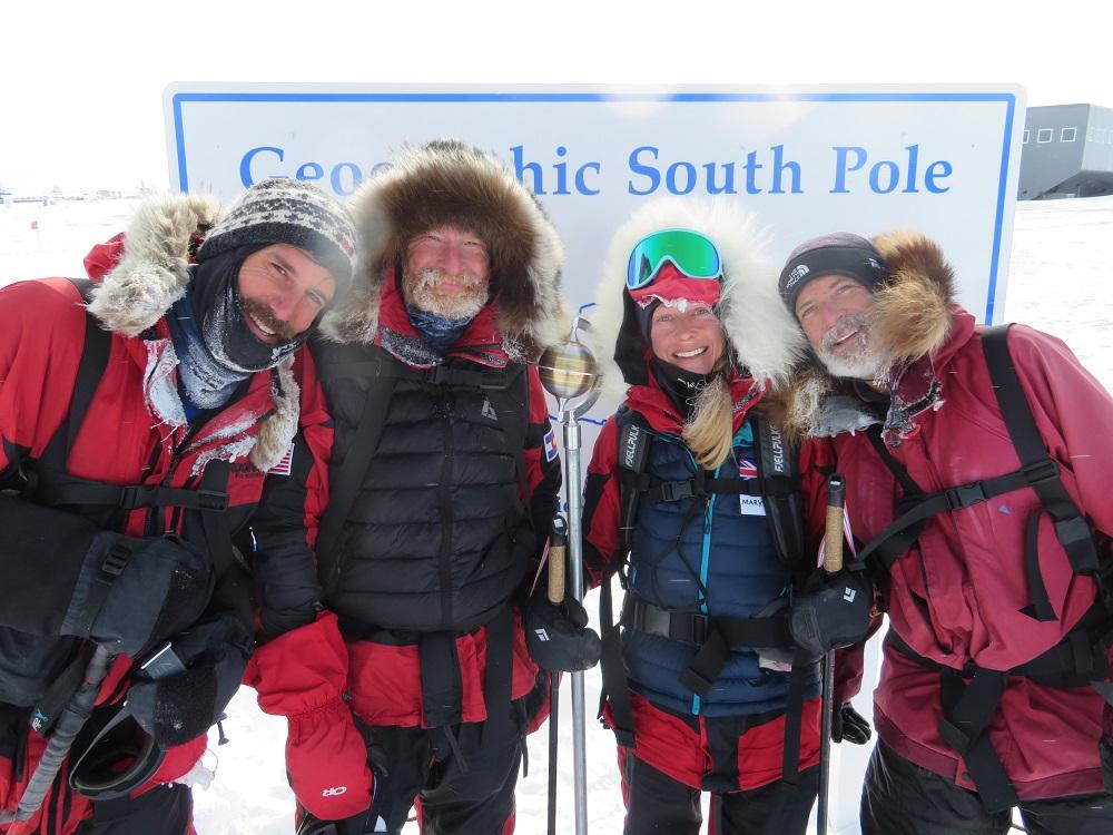Keynote speaker Mr. Scott Kress on South Pole