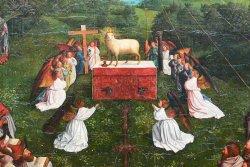 Bild: Michiel Coxcie nach Jan van Eyck, Bode-Museum Berlin