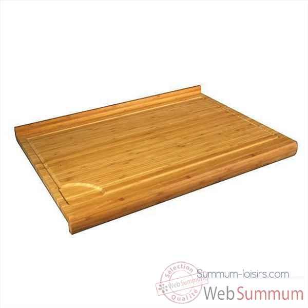 planche plan de travail bambou 62 2 x 46 x 1 9 cm 000319 de cuisine de robot hachoir