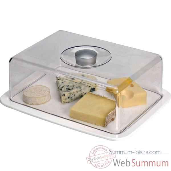 emsa cloche a fromage 29 5 x 23 cm porcelaine dans couteau fromage sur summum loisirs