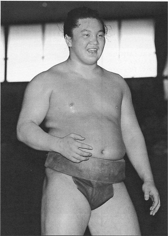 Hakuho in allenamento