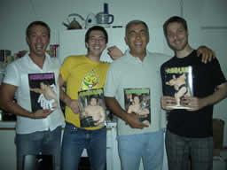 Luca, Julien, Piefranco e Marco