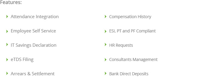 HR & Payroll Management Software Online Visakhapatnam