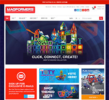 Magformers E-Commerce Site