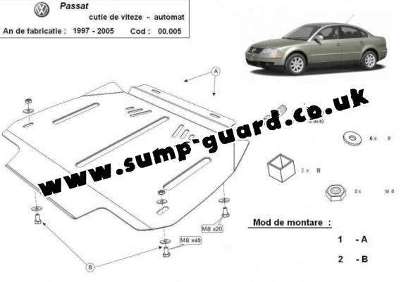 Volkswagen Passat Steel Engine Sump Guard