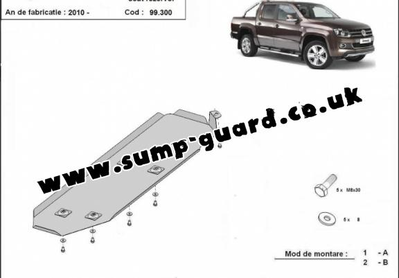 Volkswagen Amarok Steel Engine Sump Guard