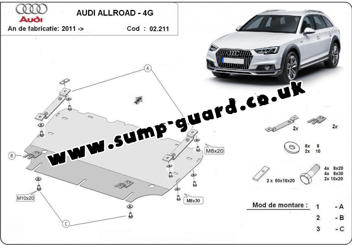 Sump Guard Audi All Road