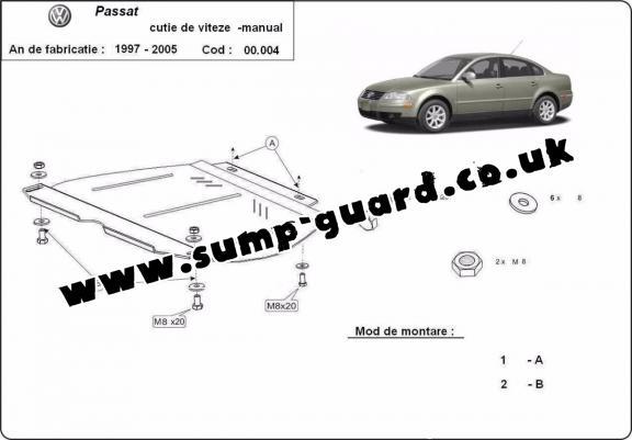 Volkswagen Steel Engine Sump Guard