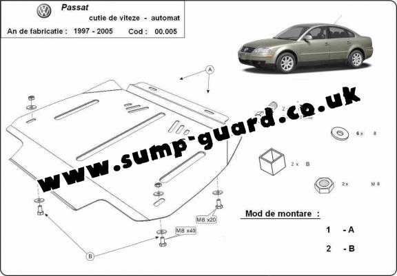 Volkswagen Steel Engine Sump Guard