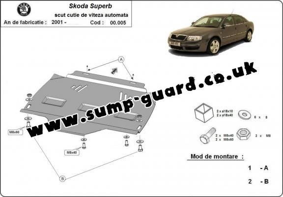 Skoda Steel Engine Sump Guard