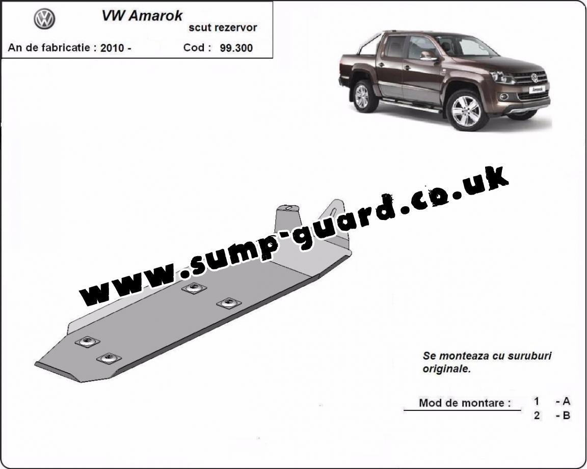 Steel Fuel Tank Guard For Volkswagen Amarok