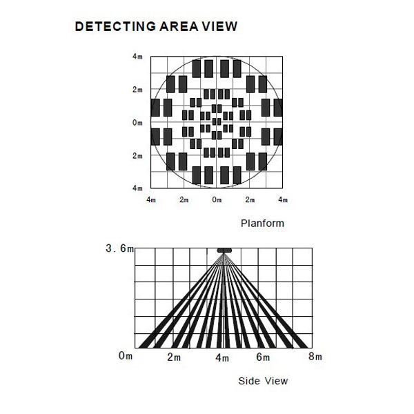 SR-603W Wide Angle PIR Detector