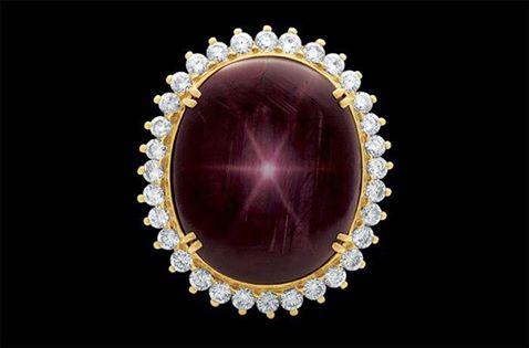 the Star of Bharany Ruby